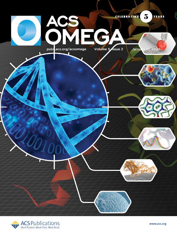 ACS Omega volume 5, issue 2 (2020) journal cover image